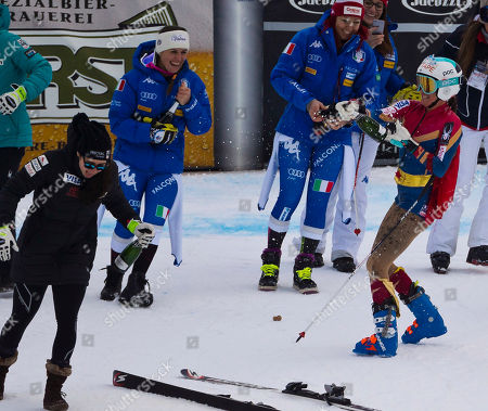 Editorial image of Alpine Skiing World Cup, Cortina d'Ampezzo, Italy - 19 Jan 2018
