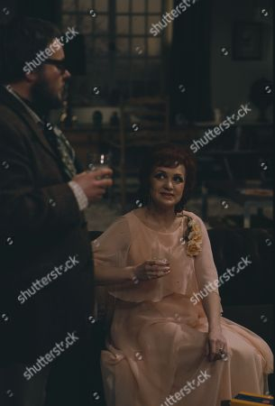 Bill Wallis, as Bert; Katie Macleod, as Angela