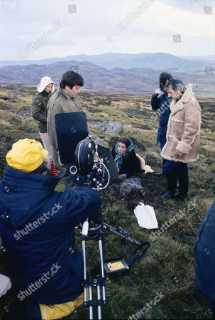 Location Shooting. Barbara Shelley (as Louisa Galbraith)