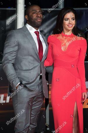 Mark Ebulue and Elysia Wren