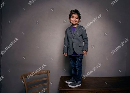 "Parker Sevak poses for a portrait to promote the film, ""The Kindergarten Teacher"", at the Music Lodge during the Sundance Film Festival, in Park City, Utah"