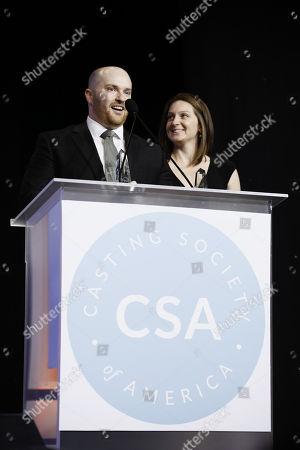 Stock Picture of Chase Paris and Tara Feldstein Bennett