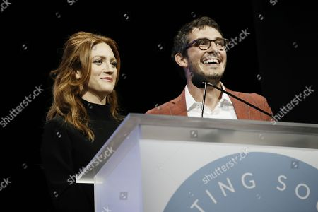 Stock Picture of Brittany Snow and Tate Ellington
