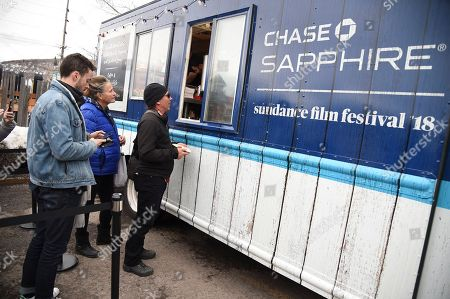 Editorial image of Chase Sapphire On Location Food Truck, Park City, USA - 19 Jan 2018