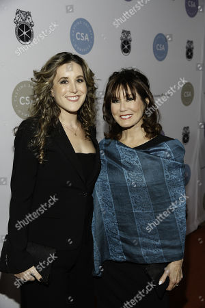 Stock Photo of Olivia Mell and Mary McDonnell