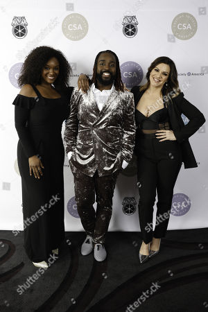 Stock Image of Saycon Sengbloh, Mykal Kilgore and Shoshana Bean