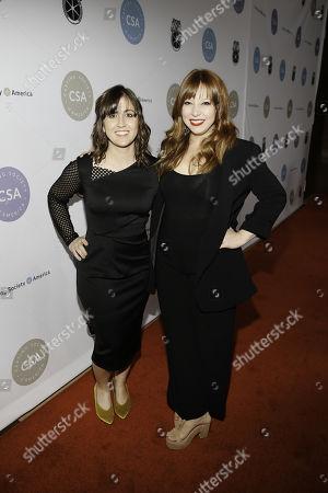 Chrissy Fiorilli-Ellington and Amanda Doyle