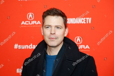 """Director Craig William Macneill poses at the premiere of """"Lizzie"""" during the 2018 Sundance Film Festival, in Park City, Utah"""