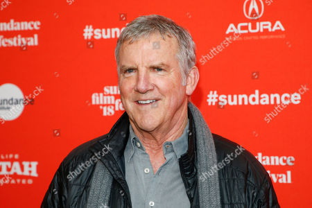 """Actor Jamey Sheridan poses at the premiere of """"Lizzie"""" during the 2018 Sundance Film Festival, in Park City, Utah"""