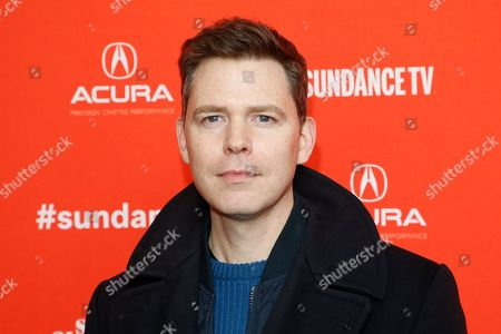 """Director Craig William Macneill poses at the premiere of """"Lizzie"""" during the Sundance Film Festival, in Park City, Utah"""