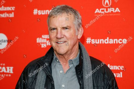 """Actor Jamey Sheridan poses at the premiere of """"Lizzie"""" during the Sundance Film Festival, in Park City, Utah"""