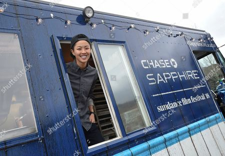 Top Chef winner Kristen Kish serves up one-of-a-kind treats at the Chase Sapphire On Location Food Truck at the Sundance Film Festival, in Park City, Utah