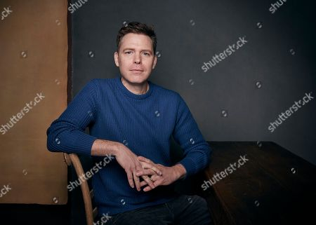 """Director Craig William Macneill poses for a portrait to promote the film """"Lizzie,"""" at the Music Lodge during the Sundance Film Festival, in Park City, Utah"""