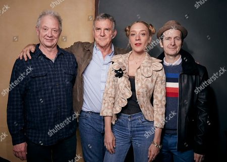 "Jeff Perry, Jamey Sheridan, Chloe Sevigny, Denis O'Hare. Jeff Perry, Jamey Sheridan, Chloe Sevigny and Denis O'Hare pose for a portrait to promote the film ""Lizzie,"" at the Music Lodge during the Sundance Film Festival, in Park City, Utah"