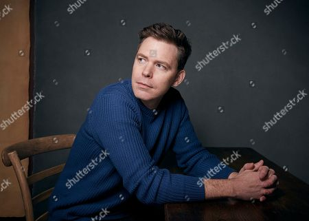 """Stock Image of Director Craig William Macneill poses for a portrait to promote the film """"Lizzie,"""" at the Music Lodge during the Sundance Film Festival, in Park City, Utah"""