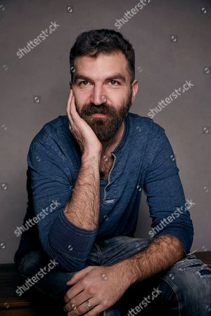 """Writer/director Jeremiah Zagar poses for a portrait to promote the film """"We the Animals,"""" at the Music Lodge during the Sundance Film Festival, in Park City, Utah"""