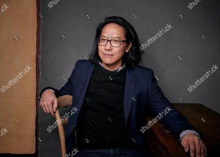 "Editorial image of 2018 Sundance Film Festival - ""Crime and Punishment"" Portrait Session, Park City, USA - 19 Jan 2018"