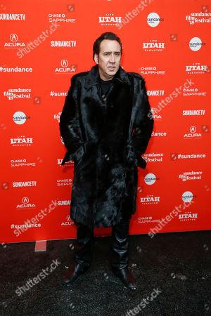 "Editorial image of 2018 Sundance Film Festival - ""Mandy"" Premiere, Park City, USA - 19 Jan 2018"