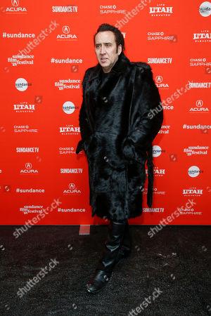 "Editorial picture of 2018 Sundance Film Festival - ""Mandy"" Premiere, Park City, USA - 19 Jan 2018"