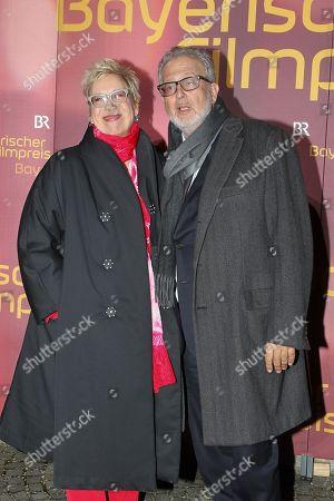 Doris Doerrie mit partner Martin Moszkowicz,