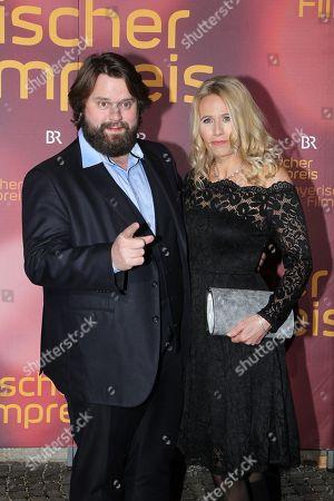 Antoine Monot Jr mit partner Stefanie Sick,