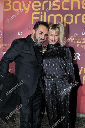 Adnan Maral mit Ehefrau Franziska Maral,