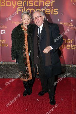 Klaus Doldinger mit Ehefrau Inge Beck,