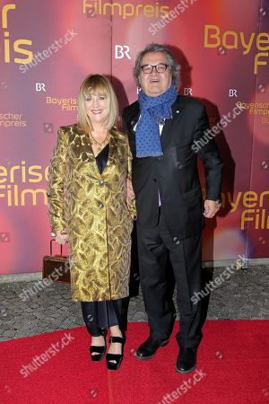 Patricia Riekel mit partner Helmut Markwort,