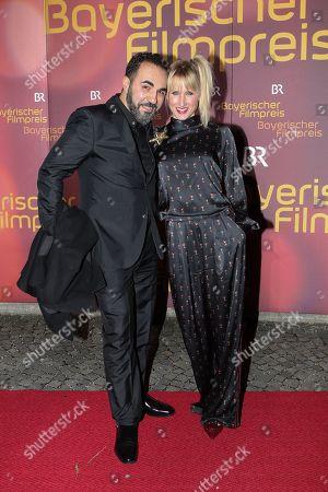 Stock Image of Adnan Maral mit Ehefrau Franziska Maral,