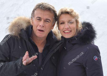 Franck Dubosc and Alexandra Lamy