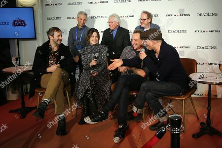Front Row: Chris O'Dowd, Rose Byrne, Jesse Peretz, Dominic Patten. Back Row: Jeffrey Soros, Albert Berger and Ron Yerxa