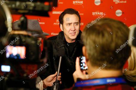 "Editorial photo of 2018 Sundance Film Festival - ""Mandy"" Premiere, Park City, USA - 19 Jan 2018"