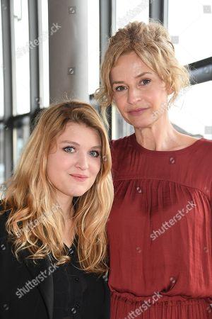 Stock Picture of Lara Mandoki and Franziska Schlattner..