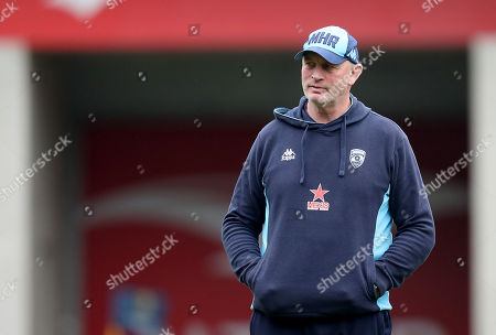 Montpellier vs Leinster. Montpellier Head Coach Vern Cotter before the game