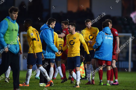 Stock Photo of Jake Gosling of Torquay United, during the Vanarama National League match between Torquay United and Bromley at Plainmoor, Torquay, Devon on January 20