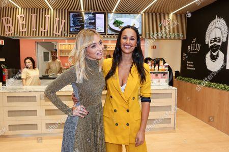Stock Image of Carina Caldeira and Rita Pereira