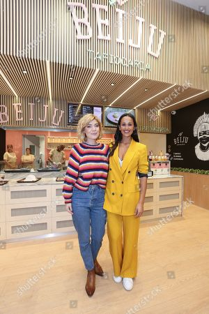 Stock Image of Raquel Strada and Rita Pereira