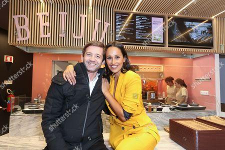 Pedro Granger and Rita Pereira