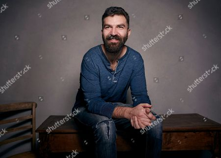 """Director Jeremiah Zagar poses for a portrait to promote the film, """"We The Animals"""", at the Music Lodge during the Sundance Film Festival, in Park City, Utah"""