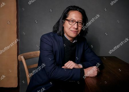 """Director Stephen Maing poses for a portrait to promote the film, """"Crime and Punishment"""", at the Music Lodge during the Sundance Film Festival, in Park City, Utah"""
