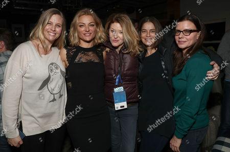 Danielle Parsons, Lucy Walker, Ondi Timoner, Lisa Mehling and Vanessa Hope