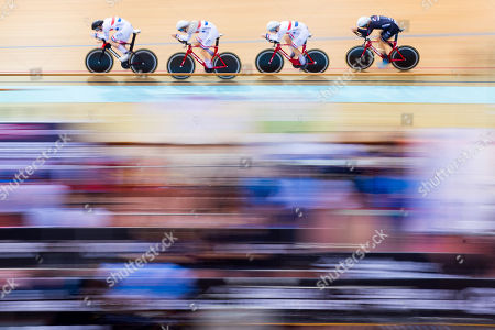 Editorial picture of Tissot UCI Track Cycling World Cup Minsk. Minsk, Belarus - 19 Jan 2018