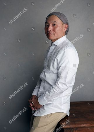 """Director Masaaki Yuasa poses for a portrait to promote the film, """"Lu Over the Wall"""", at the Music Lodge during the Sundance Film Festival, in Park City, Utah"""
