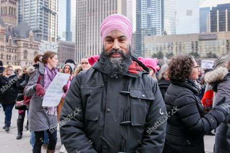 NDP LEADER Jagmeet Singh at the 2018 Women's March On Toronto: Defining Our Future.