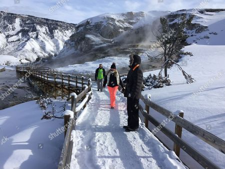 Editorial picture of Government Shutdown, Yellowstone National Park, USA - 20 Jan 2017