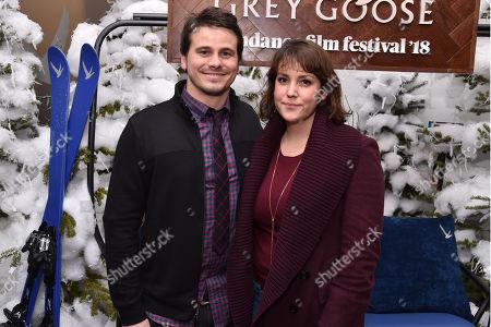Jason Ritter and Melanie Lynskey