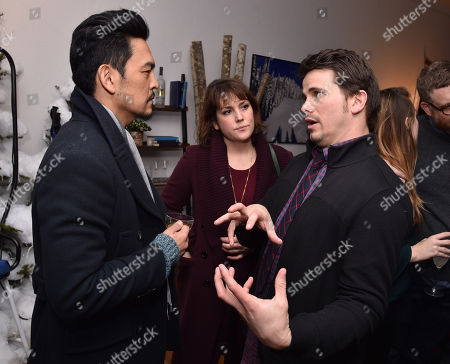 John Cho, Jason Ritter and Melanie Lynskey