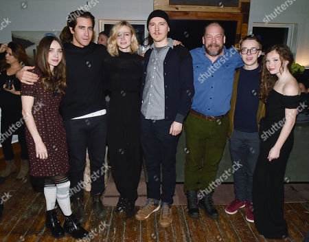 Zoe Kazan, Jake Gyllenhaal, Carey Mulligan, Paul Dano, Bill Camp, Ed Oxenbould and Zoe Margaret Colletti