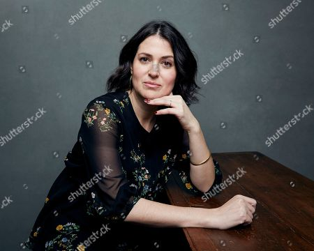 "Director/producer Alexandra Shiva poses for a portrait to promote the film, ""This is Home"", at the Music Lodge during the Sundance Film Festival, in Park City, Utah"