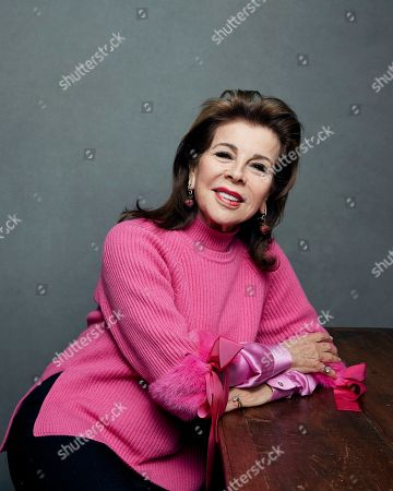 "Stock Photo of Princess Firyal of Jordan poses for a portrait to promote the film, ""This is Home"", at the Music Lodge during the Sundance Film Festival, in Park City, Utah"
